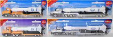 Siku Super 1614 Scania CT14 (Serie 4) Tieflader mit Rakete Ariane 40