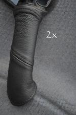 FITS VAUXHALL OPEL TIGRA   2X DOOR HANDLE COVERS black