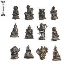 Miniatura Ganesh Shiva Nataraja Tara Garuda Kubera Lakshmi metal Dios india Goa