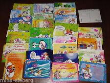 Diddl Postkarte I-Serie Deutsch AUSSUCHEN Rarität NEU 1-50