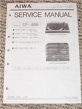 AIWA CP-888 Stereo System Service Manual GP-SE888