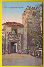 E Postal SEVILLA  - Alcazar Puerta Marchena - ANTIGUA