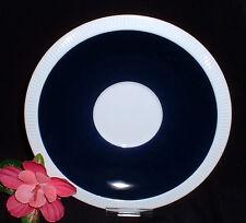 Arzberg Form 2075 SECUNDA weiß blau (Athena) ~Untertasse 17 cm (zur Suppentasse)