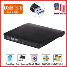 USB 3.0 DVD RW CD Writer Drive Burner Reader External Player For Laptop PC