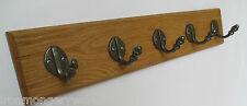 9 misure robusto quercia in legno fatto a mano rivestimento Scaffale GANCIO