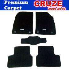 PREMIUM Prestige Carpet Floor Mats for Holden Cruze 2009 - 2019 JG JH 5pcs Black
