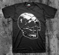 MAN IS THE BASTARD 'Skull' T shirt (Spazz MITB Bastard Noise Wood Infest)