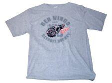 Detroit Red Wings Officially Licensed NHL Team Logo Short Sleeve Hockey T-Shirt