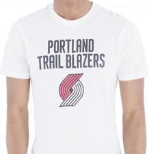 New Era Portland Trail Blazers NBA équipe Logo Tee White T T-Shirt Men M L XL XXL