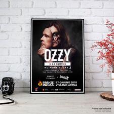 Ozzy Osbourne | Firenze Rocks Giugno 2018 Fine Art Poster HR Manifesto Locandina