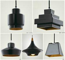 Modern Retro Designer Lustre Loft Black Ceiling Pendant Light Lamp Shade
