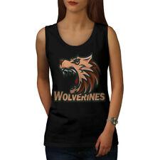 Wolverine Beast Animal Women Tank Top NEW | Wellcoda