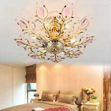 LED Crystal Chandelier pendant Lighting Dining Room Ceiling Light silver/gold