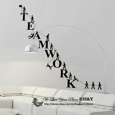 Team Work Spirit Office Company Wall Stickers Vinyl Decal Business Window Decor