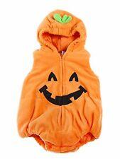 Bilo Halloween Kid Fleece Pumpkin Costume Comfy Jumpsuit