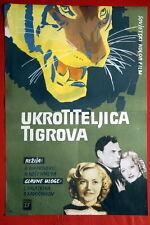 TIGER TAMER LYUDMILA KASATKINA RUSSIAN 1955 PAVEL KADOCHINKOV EXYU MOVIE POSTER