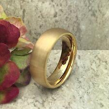 8mm Tungsten Ring,Custom Engraved Wedding Band, Unisex Ring -Free Engraving