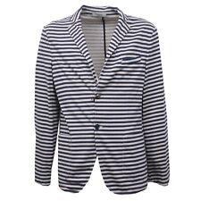 B4350 giacca uomo JEORDIE'S LUXURY giacche blu/beige cotone jacket man