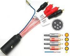 VOLVO S80 V40 V70 cd radio estéreo amplificada Bypass arnés de cableado plomo PC9-414