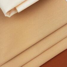 Tan Pima Cotton Doll Making Fabric / quilting flesh pale brown skin ragdoll
