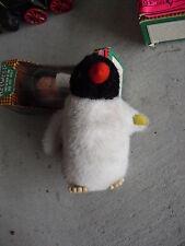 """Vintage 1950s Mohair Steiff Penguin 5 1/2"""" Tall 2515/12"""