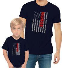 Nurse US Flag Adults Mans & Womens & Kids & Boy & Girl T-Shirt