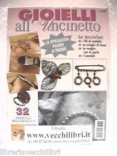 Manuale per realizzare gioielli perline orecchini spille fermagli all uncinetto