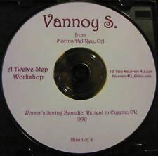 Vannoy S. 4 CD set 12 Step Workshop * Al-Anon alanon speaker talks