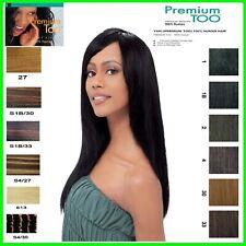Sensationnel Premium Too 100% Cheveux Humains Hh Yaki Naturel / Européen Lisse