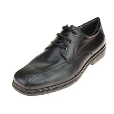 Geox Federico Niños Negro Zapatos De Escuela