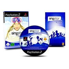 Playstation 2 - PS2 Spiel SINGSTAR APRES SKI PARTY ohne Micros in OVP mit Anl.