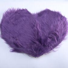 Fluffy Mat Rugs Kids Girls Boys Love Heart Fake Faux Fur Bedroom Rug Mats Soft