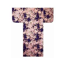 """Authentische Japanische Yukata / Luftiger Kimono: farbenfrohe """"SAKURA"""" #994 (de)"""