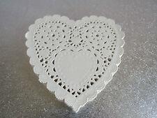 "200 Lot Heart Paper Doilies 5.5"" 13.94Wedding Craft Scrapbooking Party Cake"