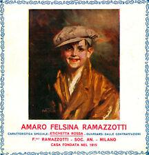 RAMAZZOTTI-G.Palanti-amaro-felsina-etichetta-rossa SCUGNIZZO