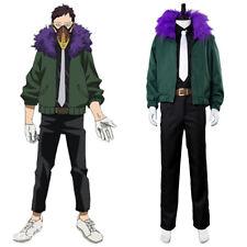 My Boku no Hero Academia Kai Chisaki Cosplay Costume Halloween Jacket Mask