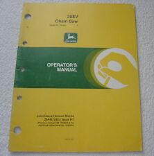 John Deere 35Ev Chain Saw Operator Manual