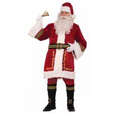 Santa Suit Adult Santa Claus Costume Father Christmas Fancy Dress