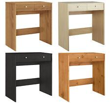 Malibu 2 Drawer Dressing Dresser Table Wooden Vanity Desk Bedroom Furniture Unit
