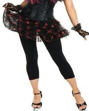 Black Red Skull Pettiskirt Petticoat Fancy Dress Halloween Costume Accessory