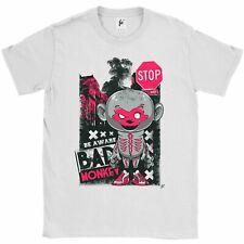 Ser conscientes de mala Mono Disfraz De Esqueleto en entrenadores & Hombre Camiseta