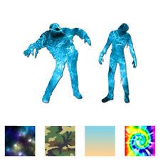 Zombie Walker Shambling - Decal Sticker - Multiple Patterns & Sizes - ebn773
