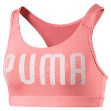 PUMA Damen Powershape Forever Logo Bustier SPORT-BH BRA rosa