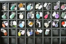 925 Silver Pendants with Semi Precious Stones and 925 chain