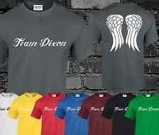 Team Dixon Mens T Shirt Walking Dead Top Rick Daryl Michonne Zombie S - 3XL