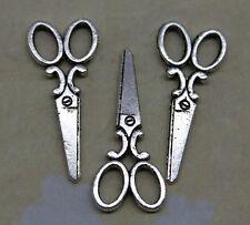 Free ship 20/60/100pcs retro style Small scissors alloy charms pendants 32*14mm