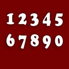 10cm Acrilico Specchio numero (0-9) - Casa / numero di porta / Scrapbooking / Craft