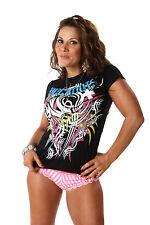 "Officiel tna impact wrestling knockouts Ko's ""tribal"" Mesdames t-shirt"