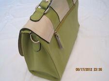 Women Fashion Bag - Genuine-Leather,Green/Brown Tote/Handbag/Retro Messenger Bag