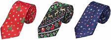 Christmas Themed Silk Ties